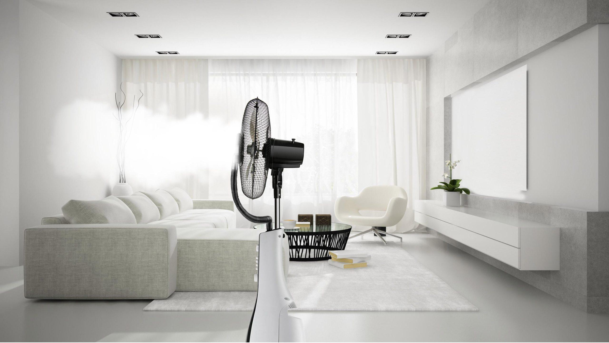 Comment utiliser un ventilateur brumisateur