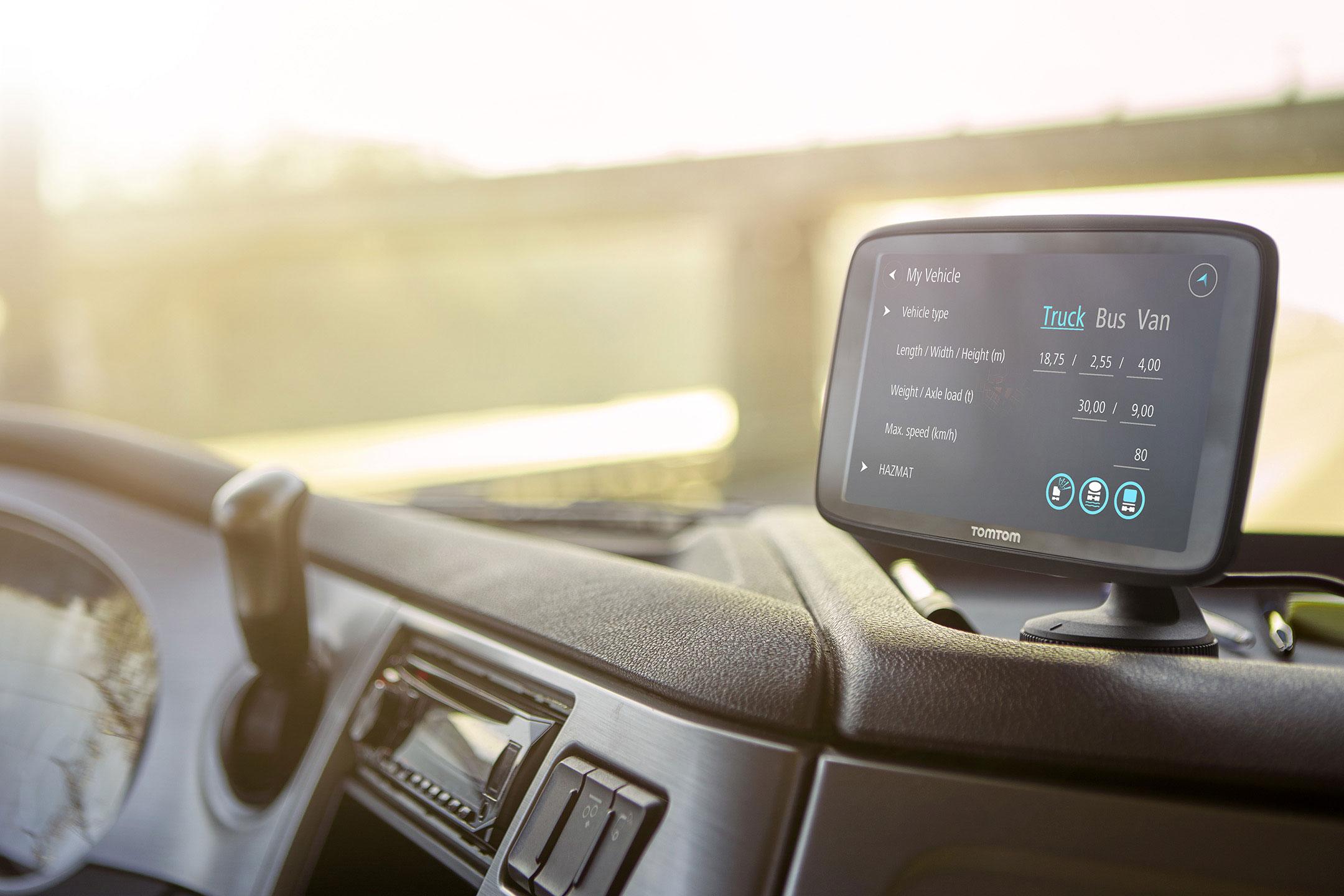 Comment utiliser un GPS Poids lourd