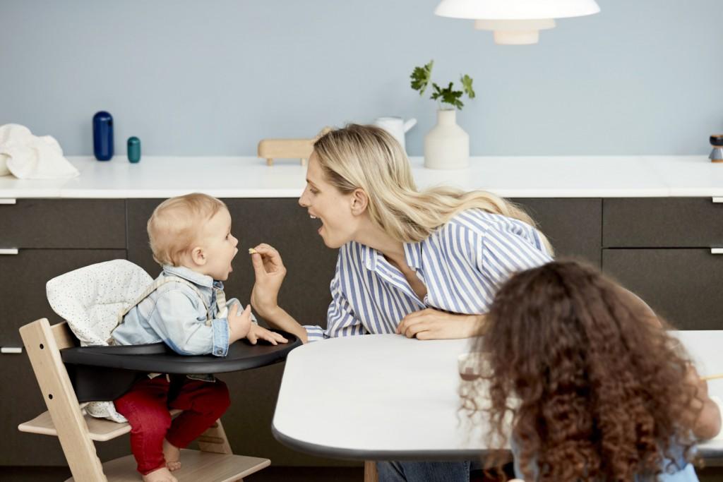 Comment utiliser une chaise haute pour bébé